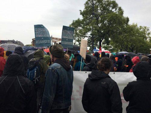 Grosse Solidemo für Flüchtlinge in Zürich