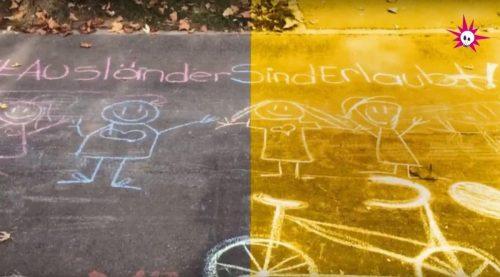 #DieKreideGuerilla – Eine Geschichte zur Bekämpfung des Rassismus und der Fremdenfeindlichkeit in Bern