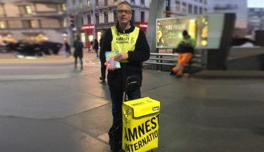 Amnesty International  gegen die Anti-Menschenrechts-Initiative
