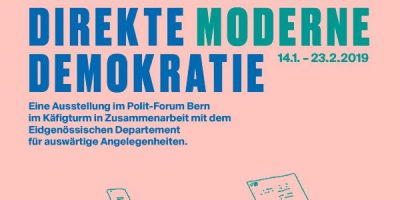 """Vernissage Ausstellung """"Moderne direkte Demokratie"""""""