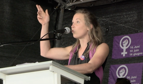 Sabine Affolter | Vulva Vagina Klitoris | #Frauenstreik Speech