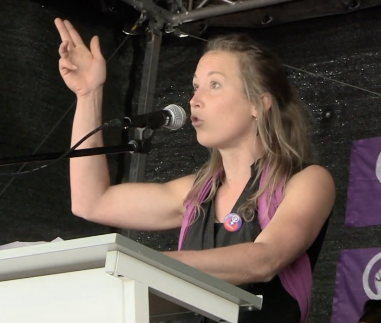 Sabine Affolter | Vulva Vagina Klitoris | #Frauenstreik Speech