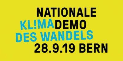 Kl!ma des Wandels: Nationale Klima-Demo in Bern
