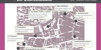 Stadtrundgang: Leben als Sans-Papiers