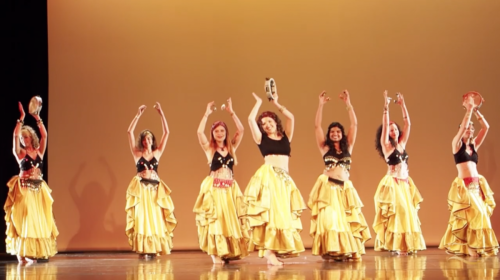 Belly dance as a freedom of expression