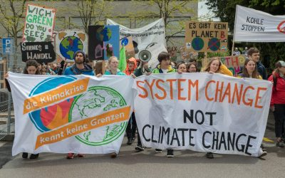 Klimatprotest-Camp am Bundesplatz Bern