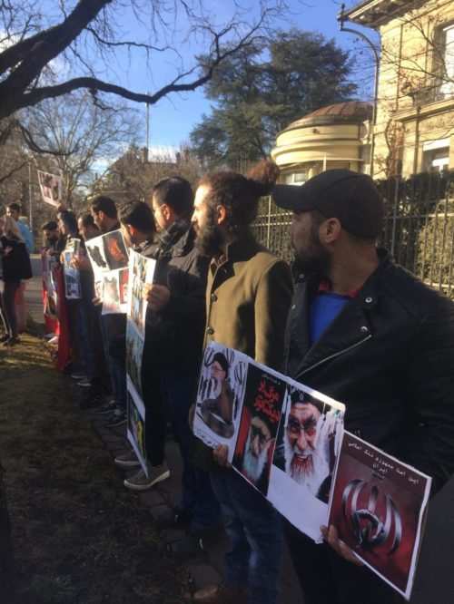 Im Gedenken an die im Iran Getöteten