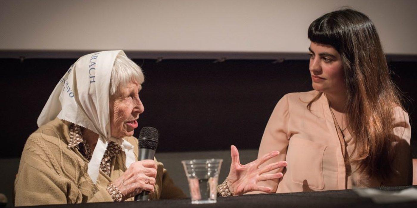 Die Filmregisseurin von «Vera – nie wieder schweigen», Manuela Irianni, stellt ihren Dokumentarfilm in der Schweiz vor