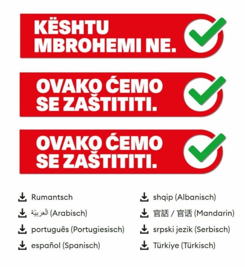 Angebote für Sans-Papiers und Betroffene