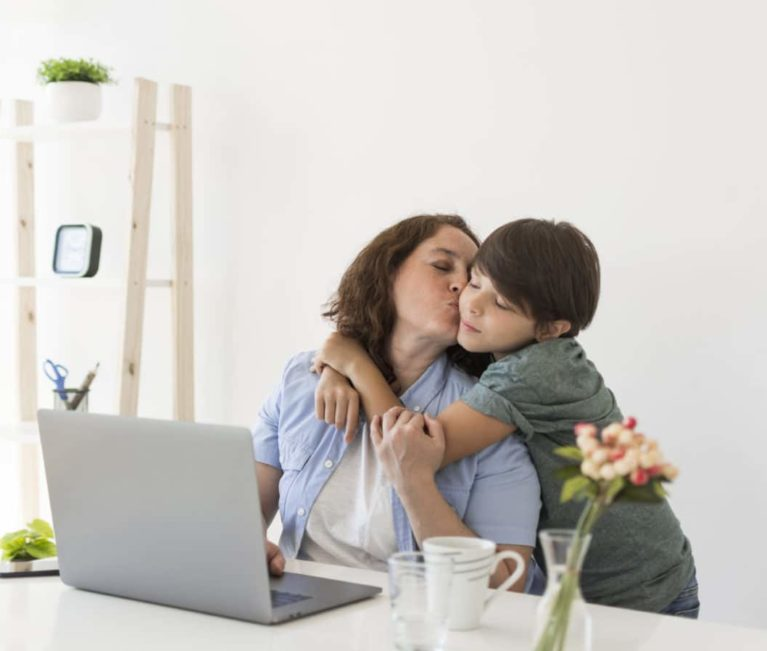 What working from home is really like for moms