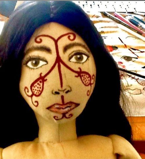 Der stille Schrei der Wayunkerra Puppe
