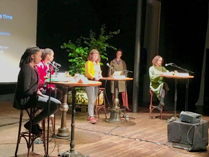 """Les Femmes noires laissant un héritage : lecture """"I will be different every time…"""" pendant le Tour de Lorraine"""