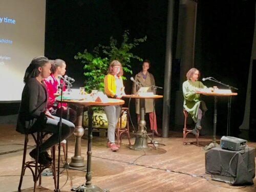 """Schwarze Frauen hinterlassen ein Vermächtnis: Lesung """"I will be different every time…"""" während der Tour de Lorraine"""